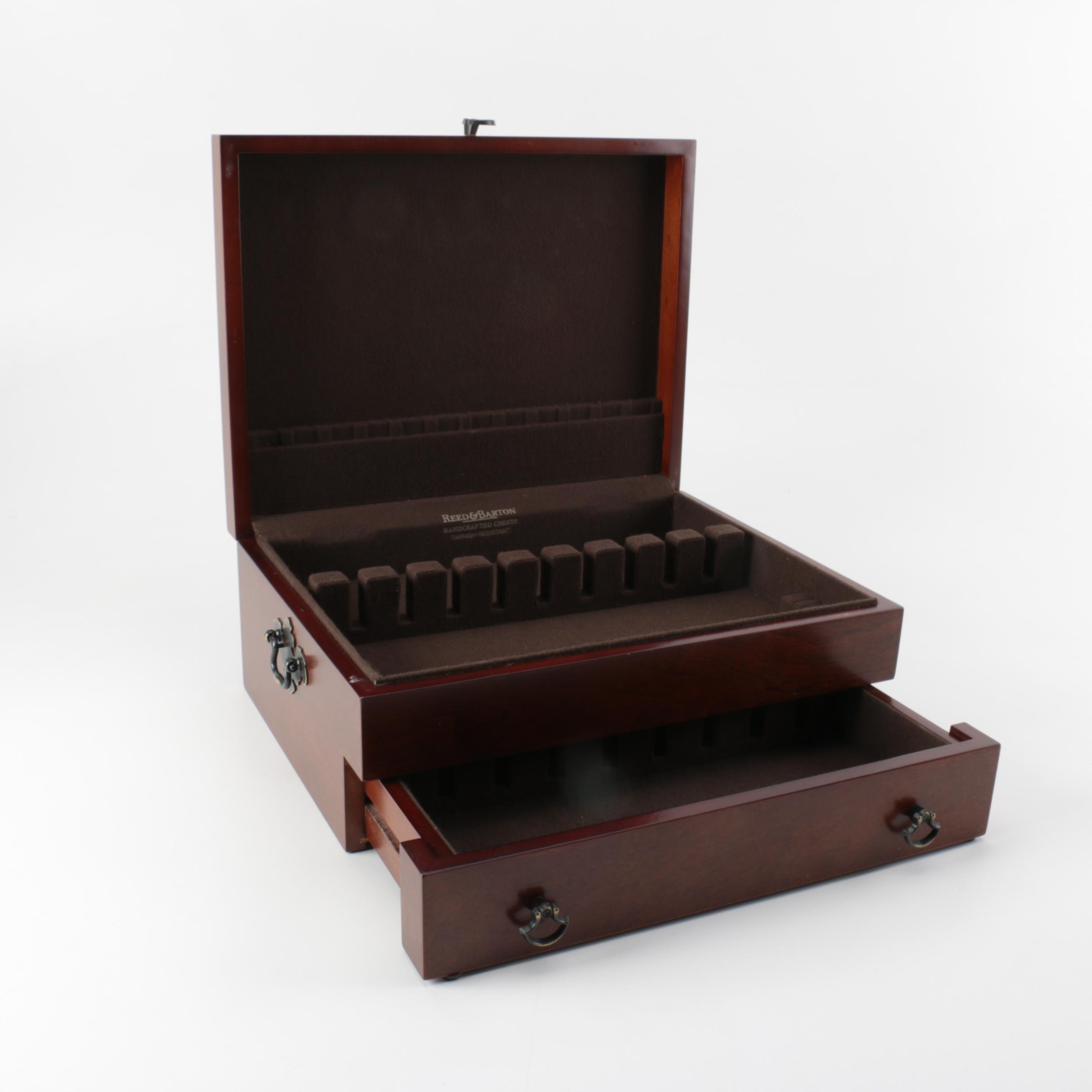 Reed & Barton Flatware Box And Rolex Watch Box