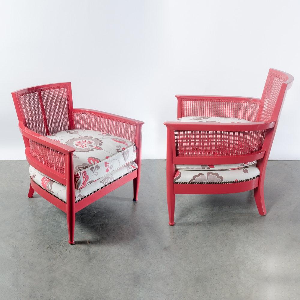 Mid-Century Style Armchairs