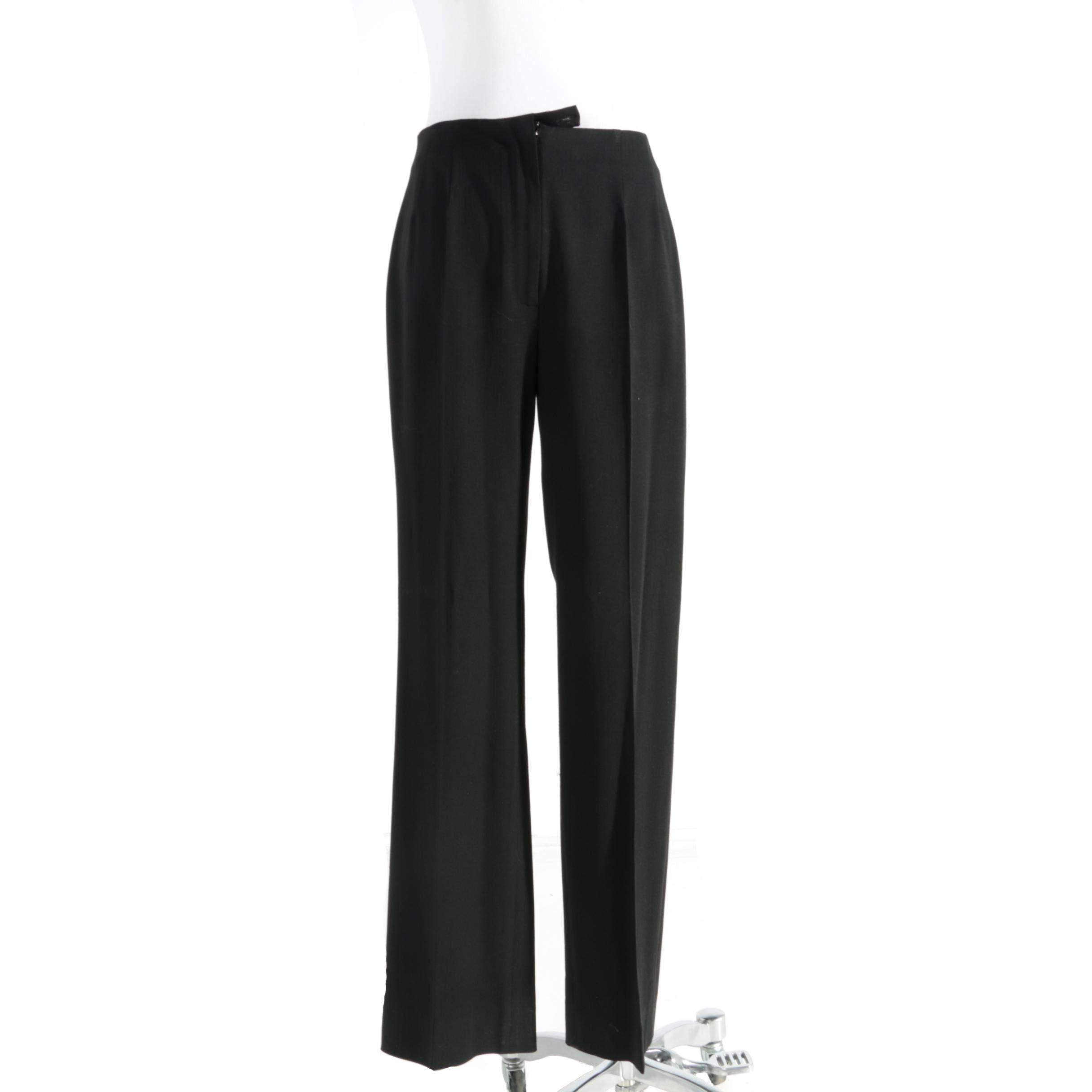Piazza Sempione Sophia Wool High-Rise Pants