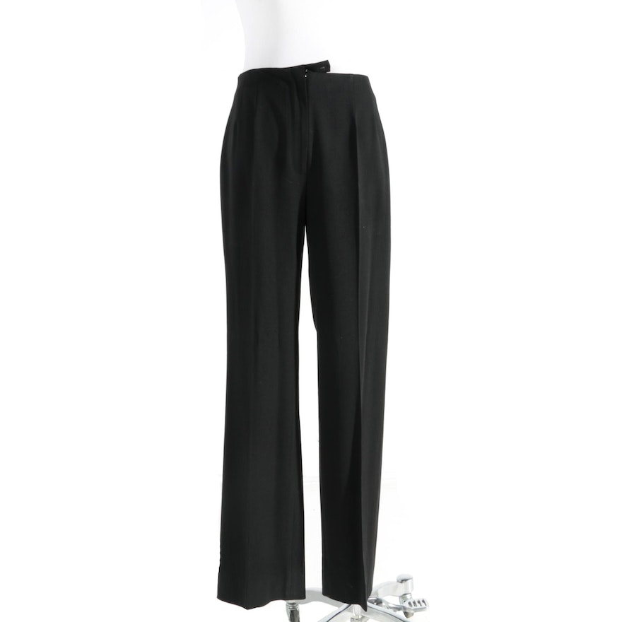 Piazza Sempione Sophia Wool High-Rise Pants Footlocker Cheap Online Buy Cheap Countdown Package Cheapest Price pZHpo