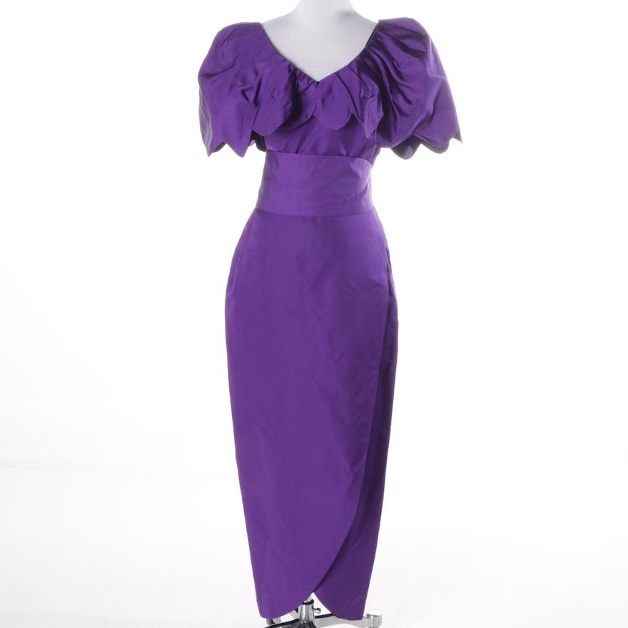 1980s Vintage Alberto Manuell Cocktail Dress : EBTH