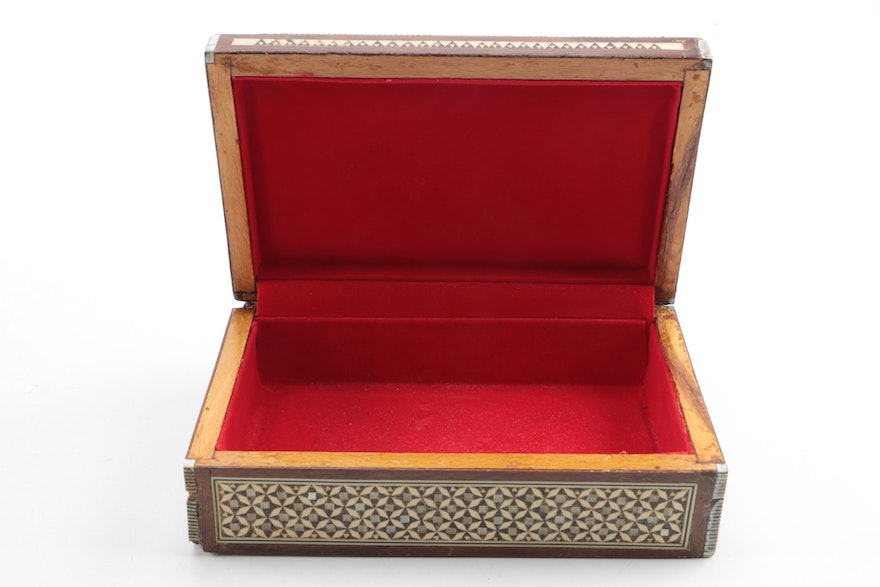Mother of pearl and bone inlay box ebth for 1 1 2 box auto