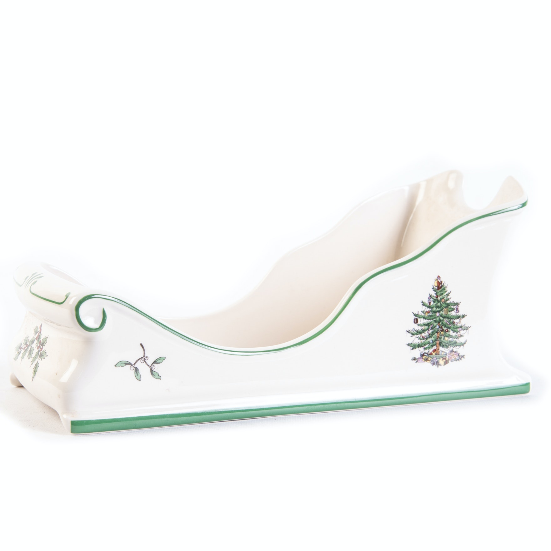"""Spode """"Christmas Tree"""" Sleigh"""