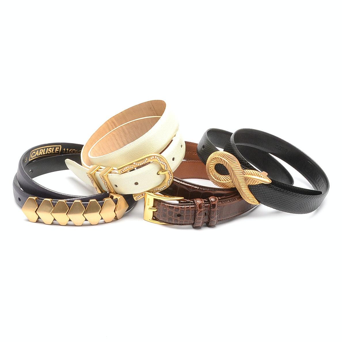 Assorted Belts including Ralph Lauren