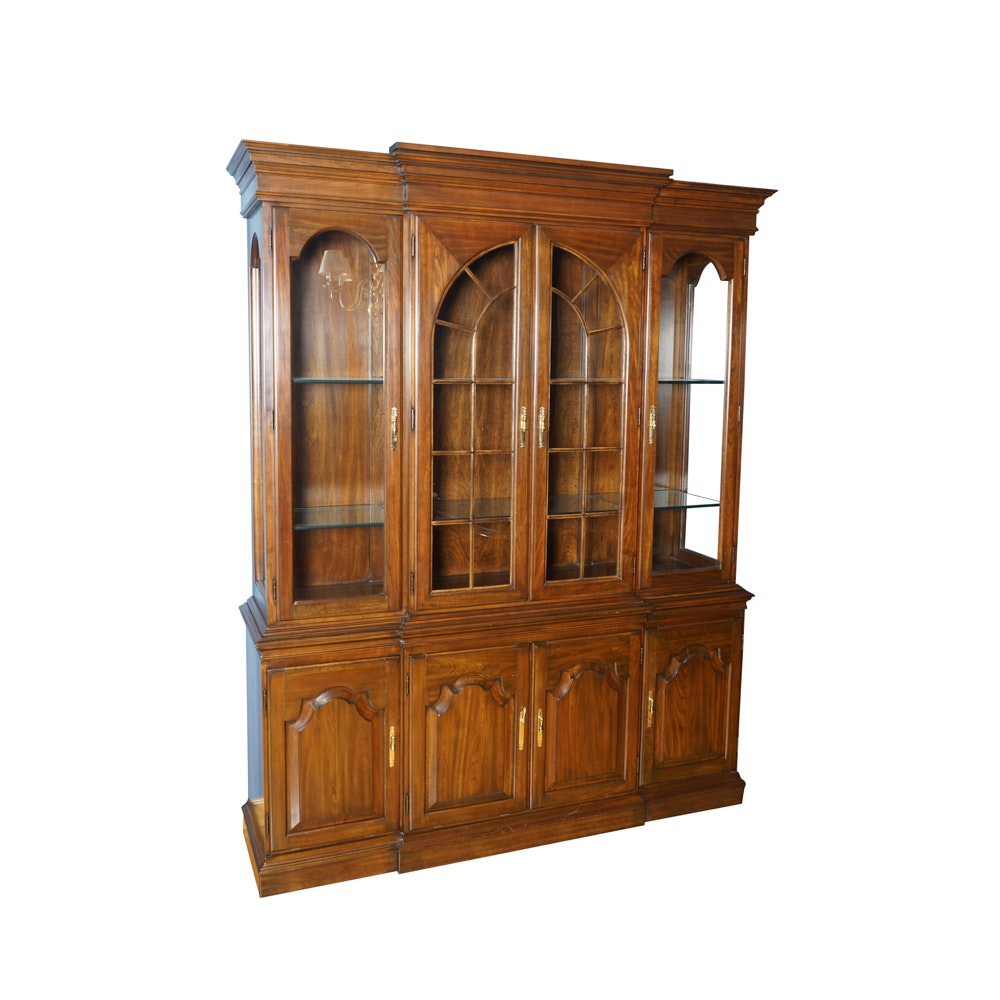 Breakfront China Cabinet by Harden Furniture