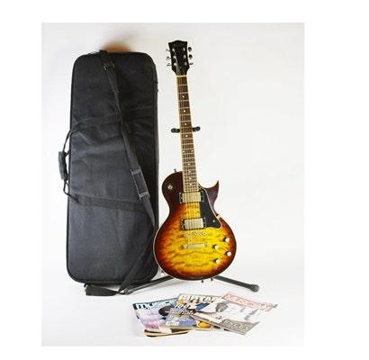 Austin Les Paul Copy Electric Guitar and Hard Case