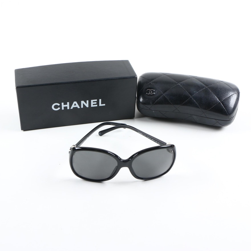 d435f07286f51 Chanel 5174 Sunglasses with Case and Box   EBTH