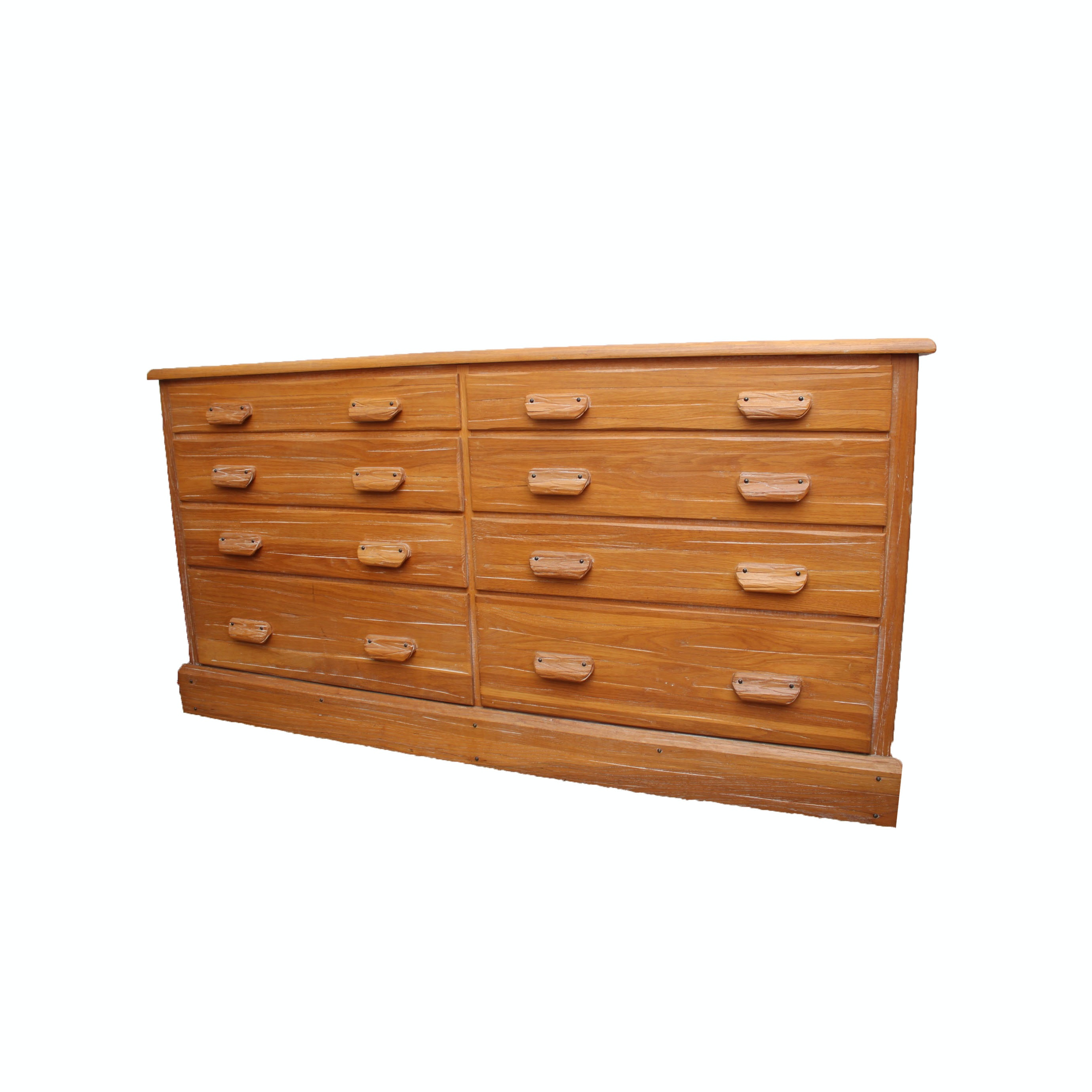 Vintage Oak Chest of Drawers by Brandt