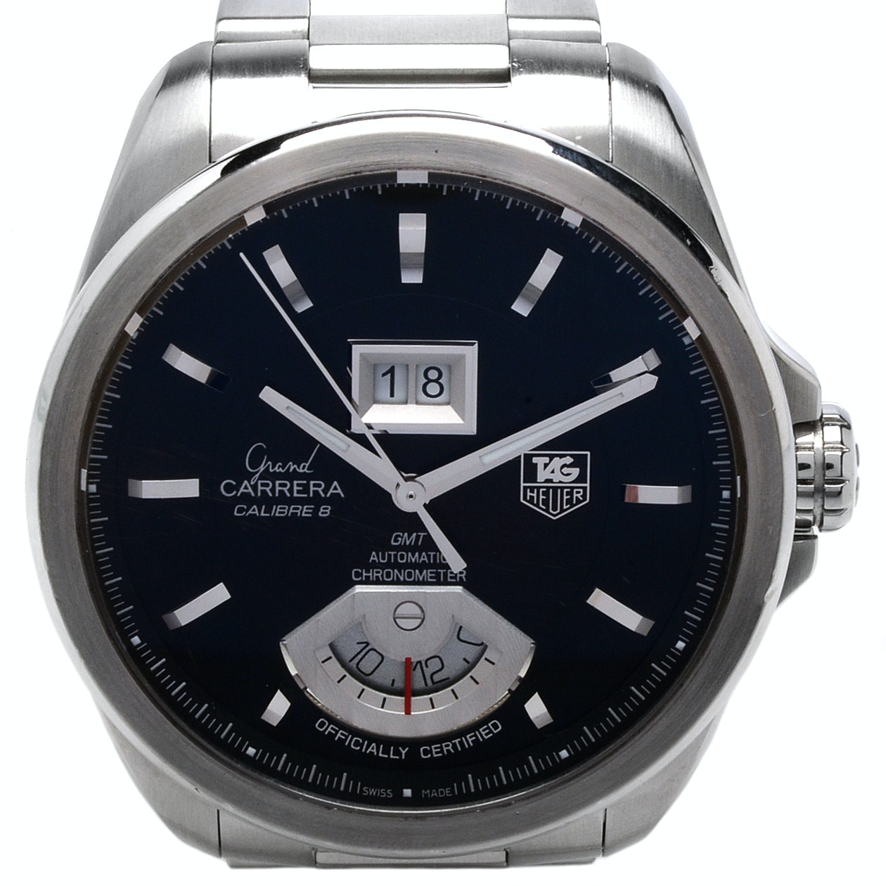 TAG Heuer Grand Carrera GMT Automatic Wristwatch