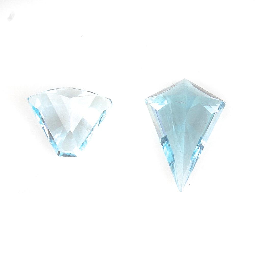 10.85 CTW Loose Topaz Gemstones