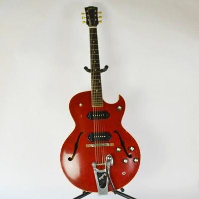 Circa 1960 Gibson 225 Semi-Hollowbody Electric Guitar