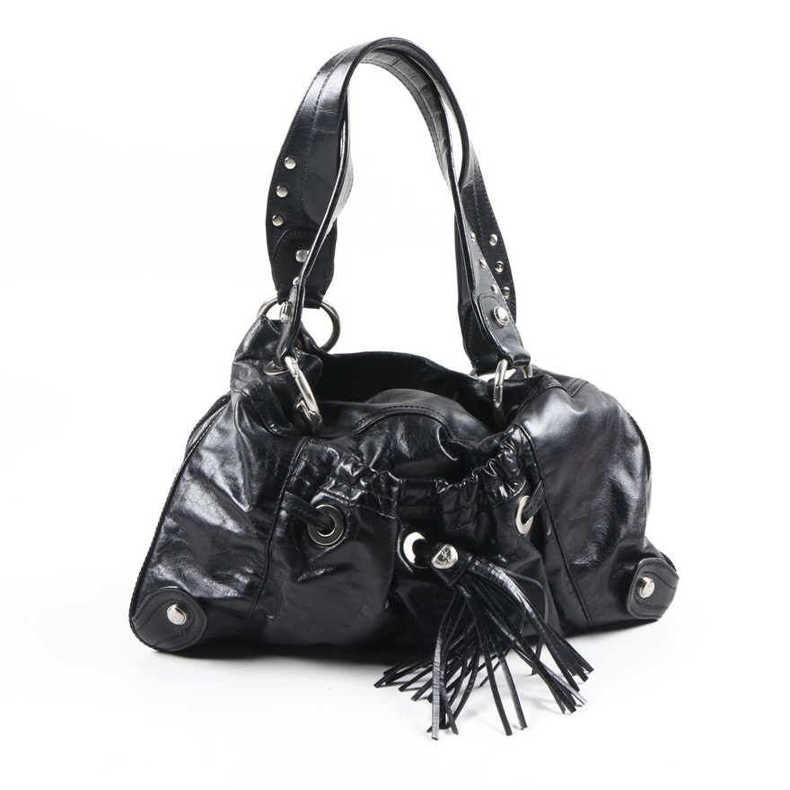 Cettu Black Leather Bag