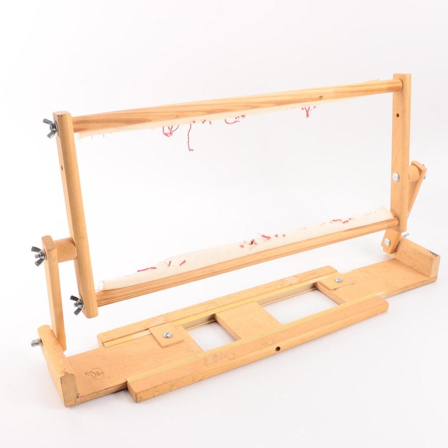 K\'s Creations Needlework Lap Scroll Frame : EBTH