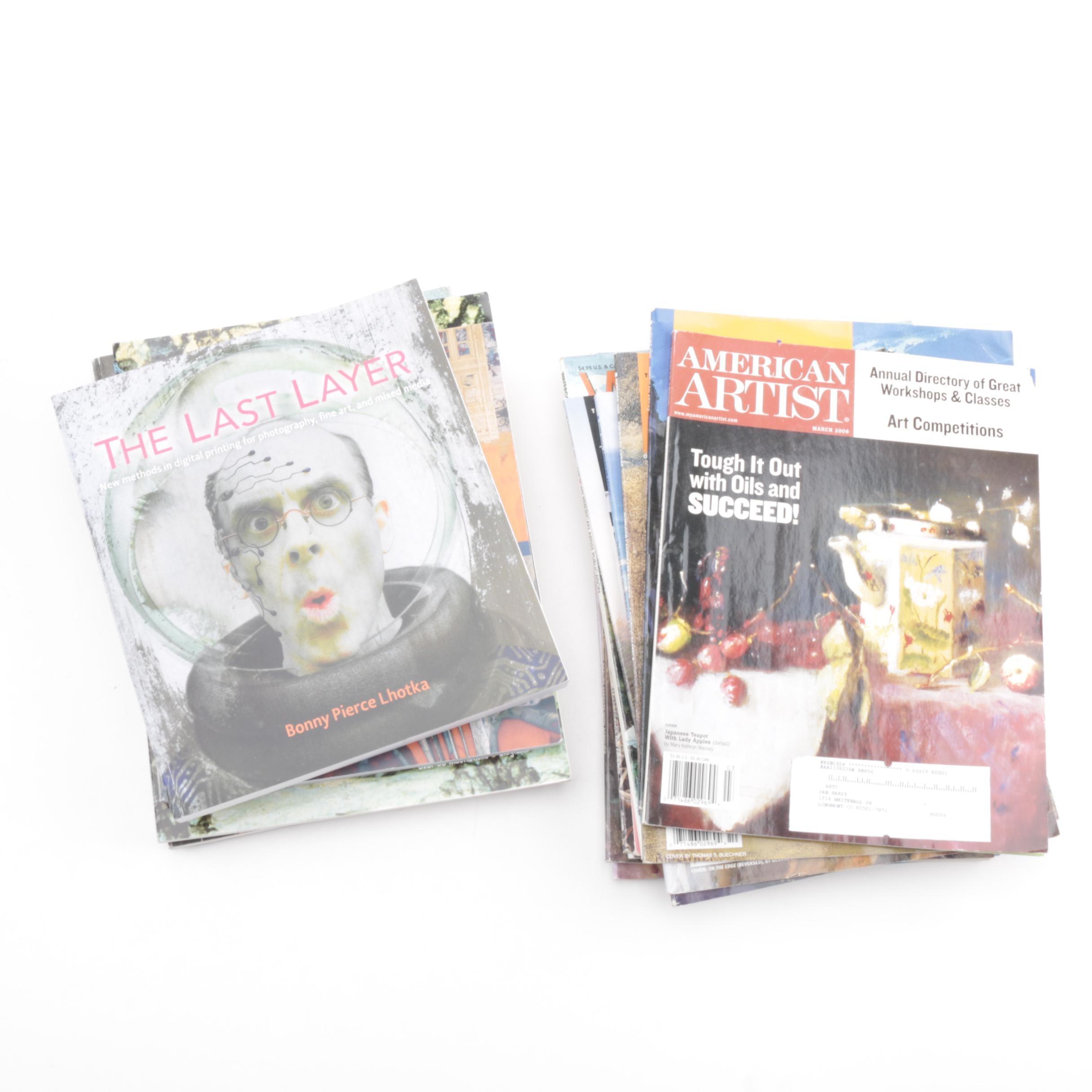 """American Artist"" Magazines"