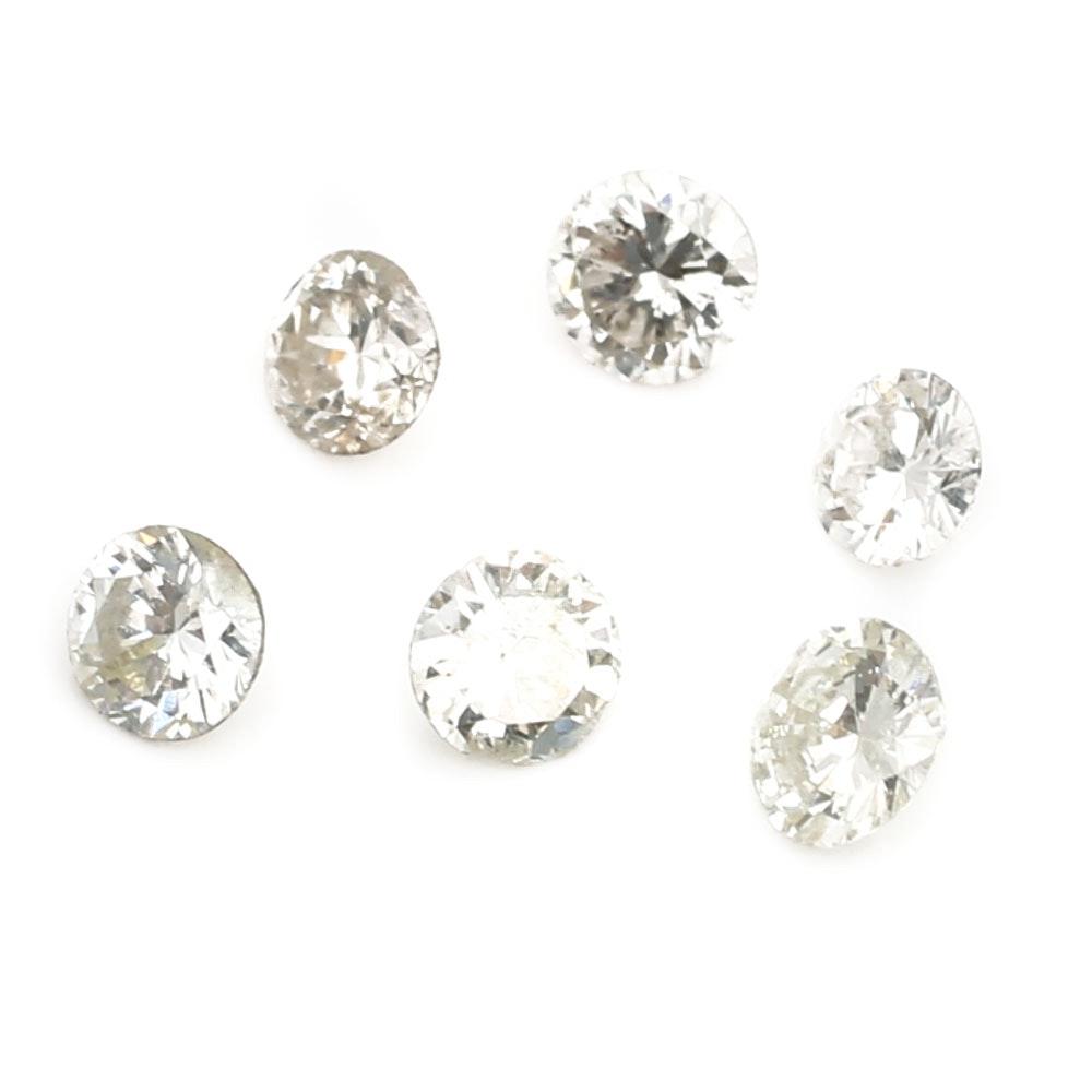 Six Loose Diamonds