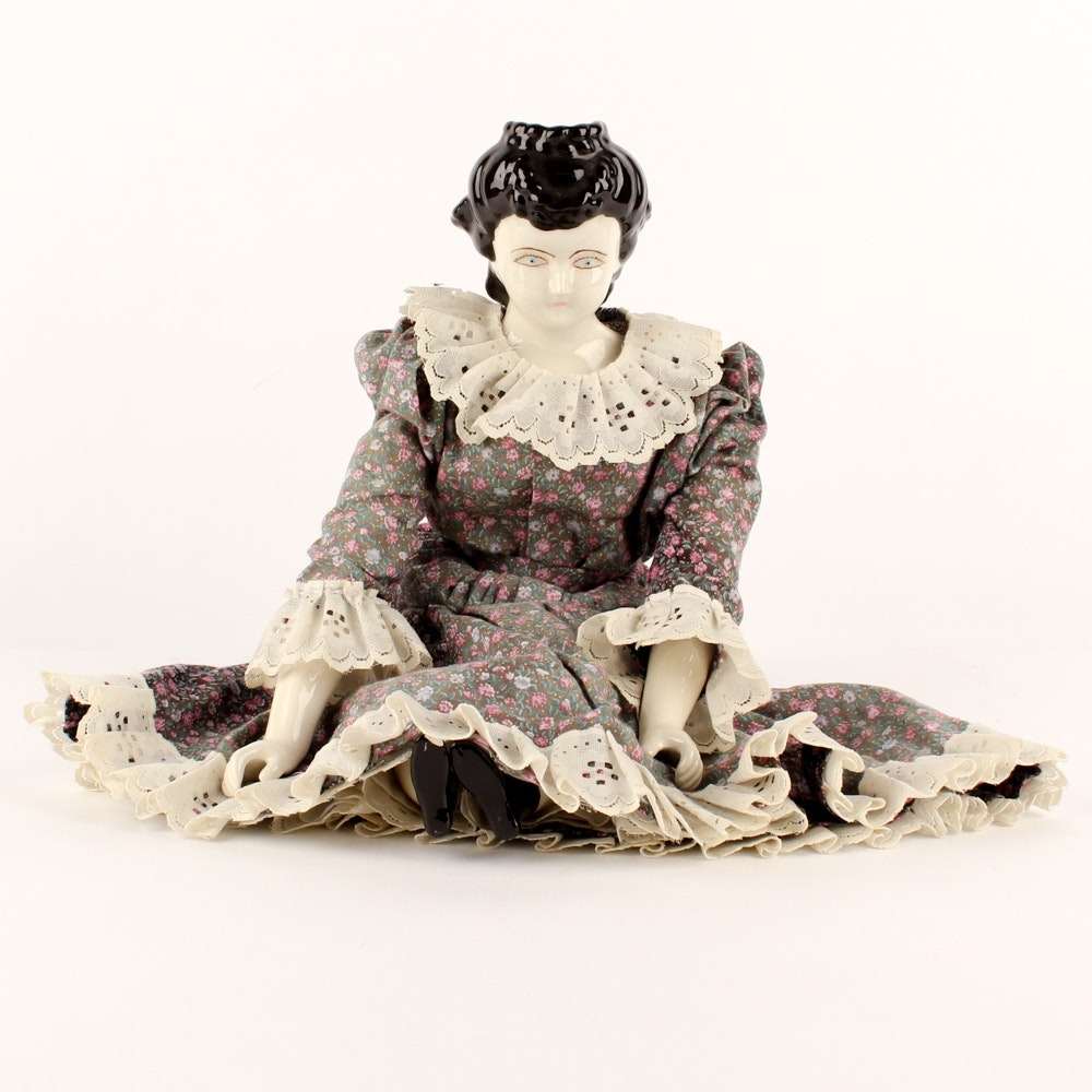 China Waterfall Head Doll