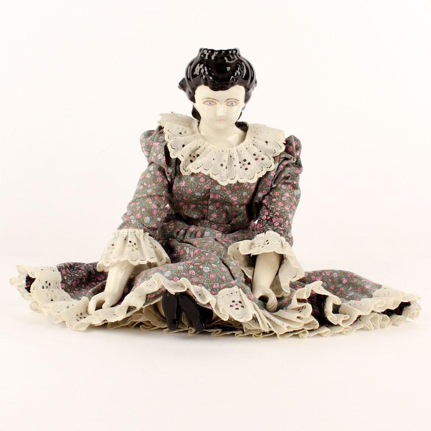 China Waterfall Head Doll
