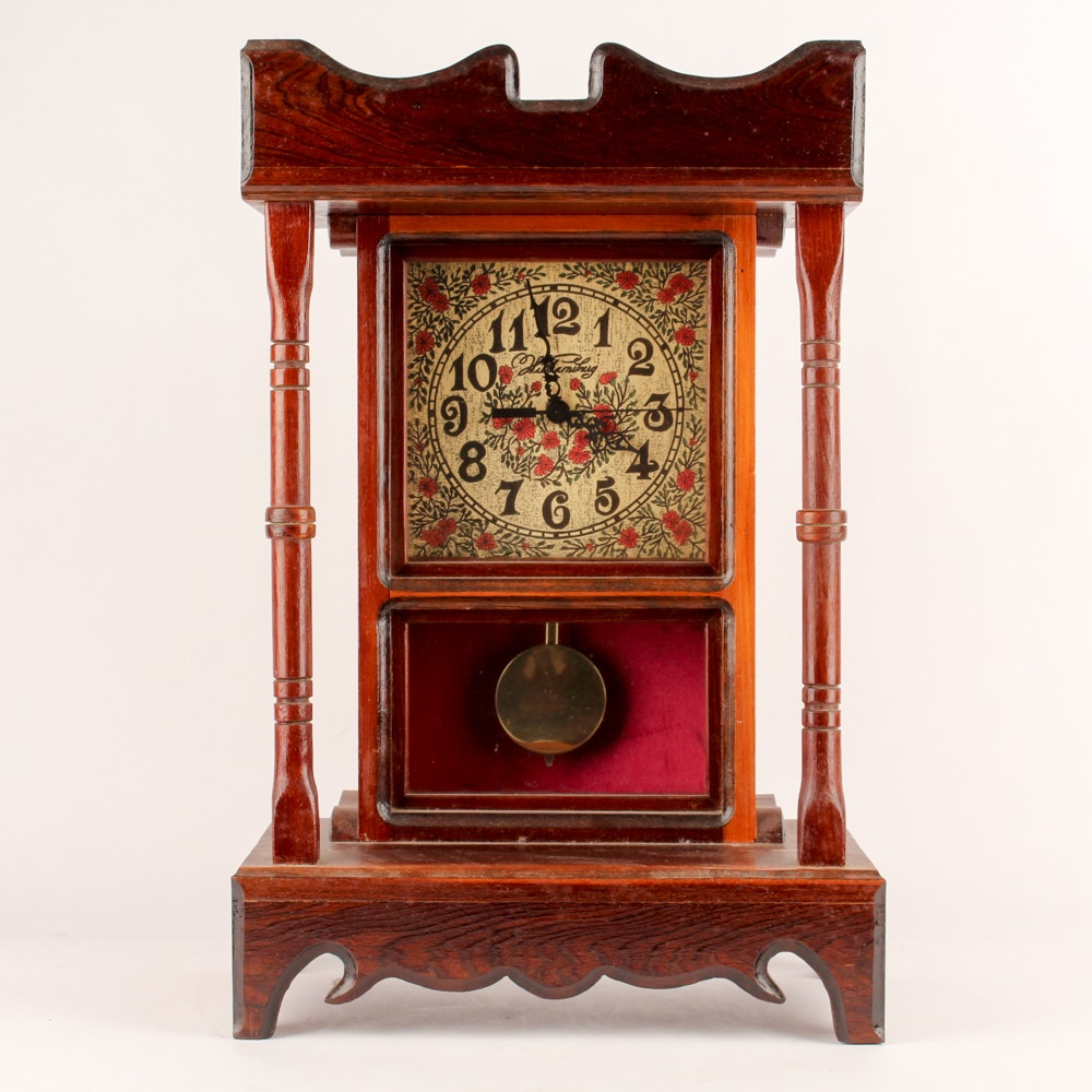 Handmade Pendulum Mantel Clock