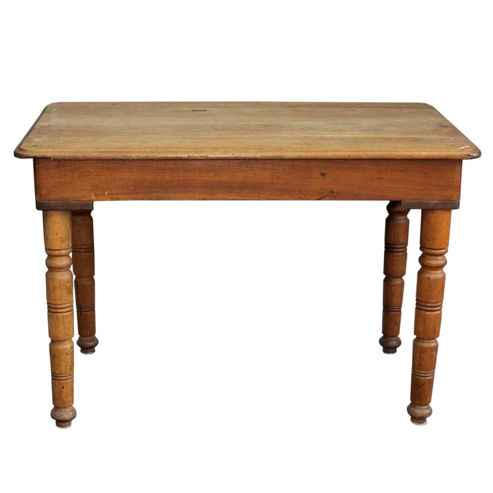 antique kitchen work table     antique kitchen work table   ebth  rh   ebth com