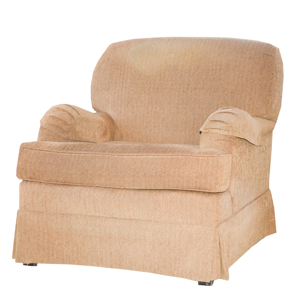 Upholstered Club Chair By Shuford Furniture ...