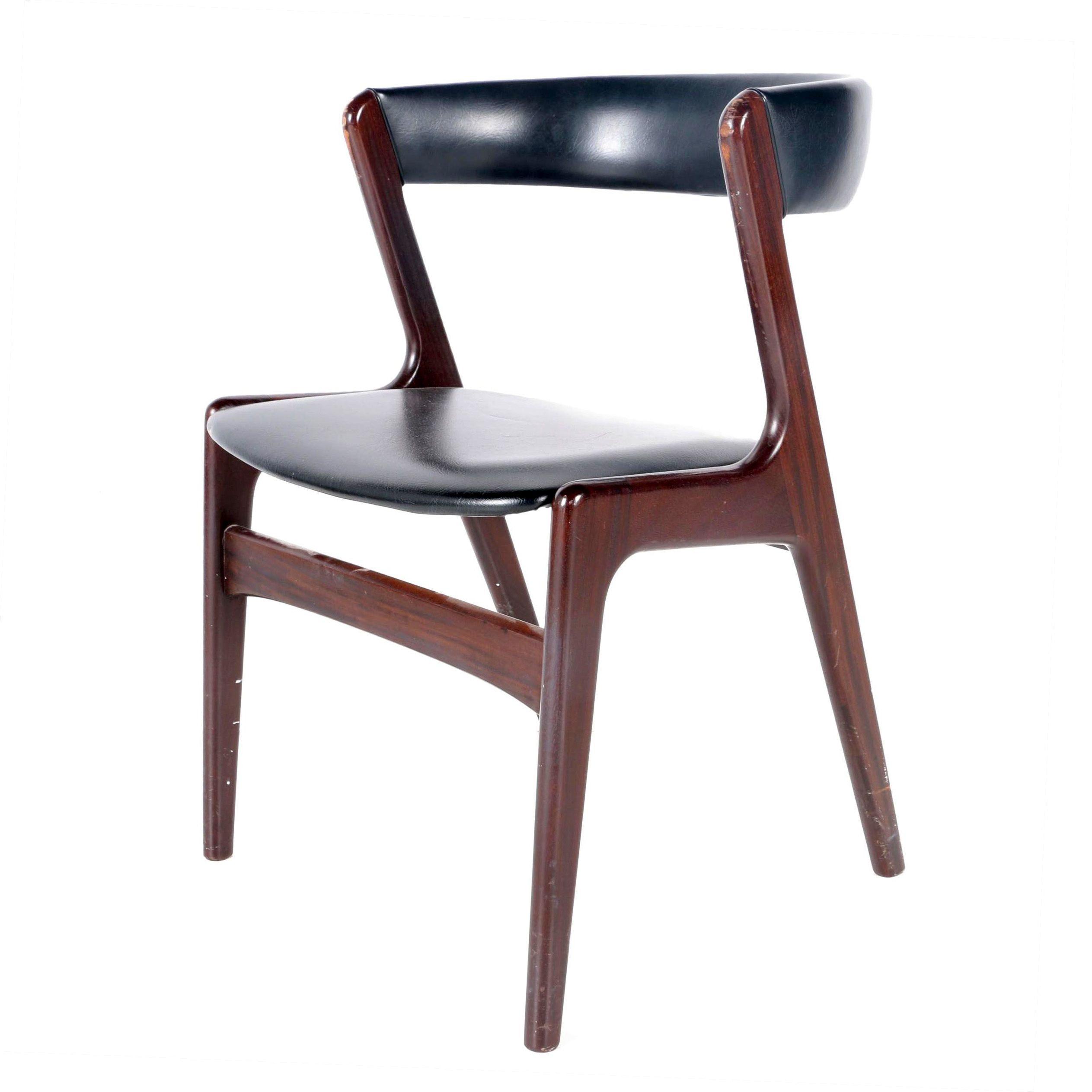 Vintage Danish Modern Accent Chair by Kai Kristiansen