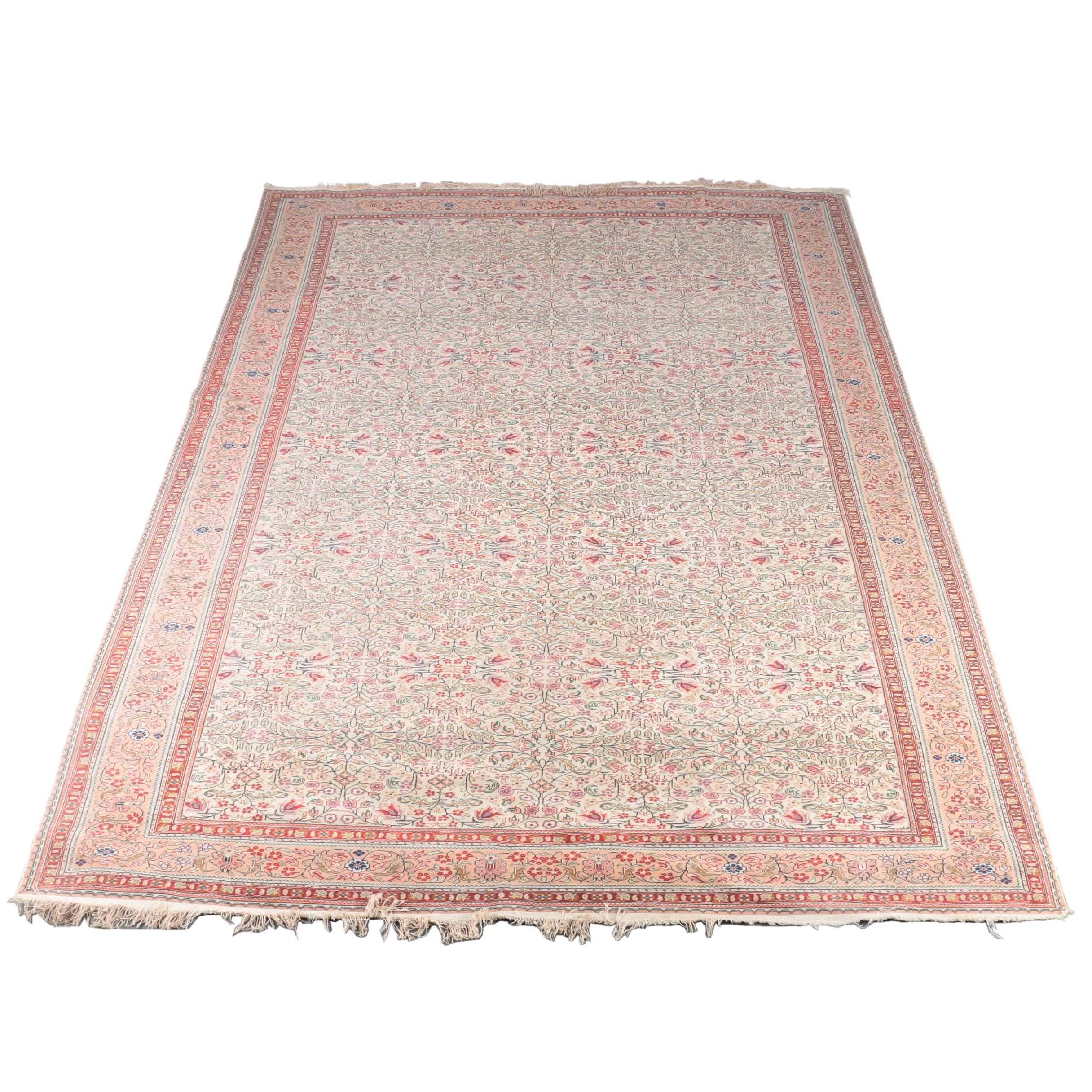 Power Loomed Persian Inspired Area Rug