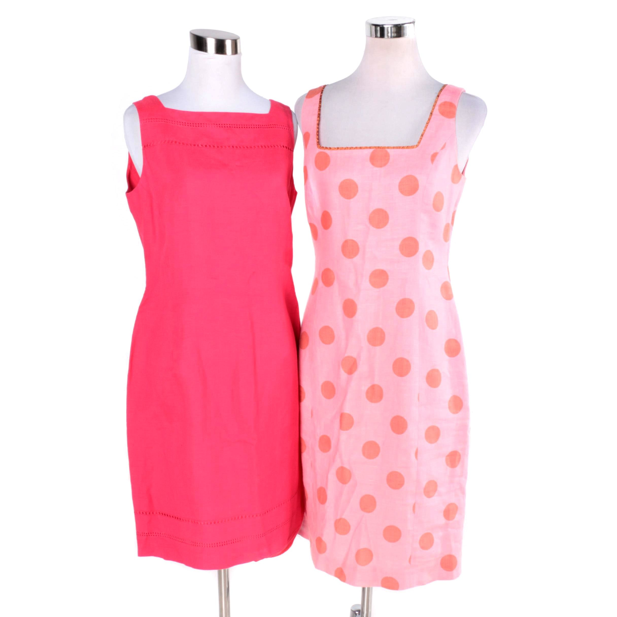 Women's Pink Dresses Featuring Jones New York and Quadrille