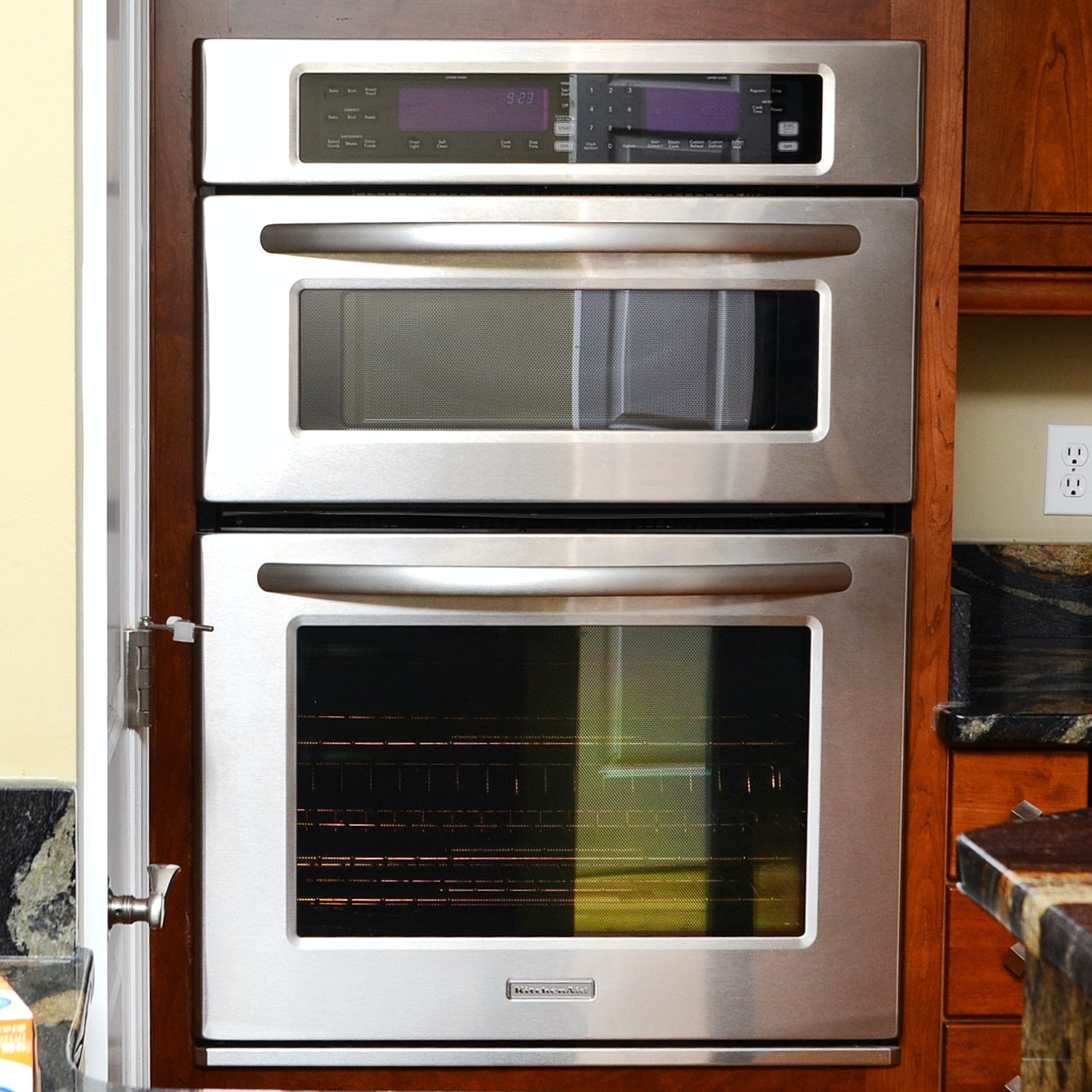 Beau KitchenAid Built In Microwave And Oven Unit ...