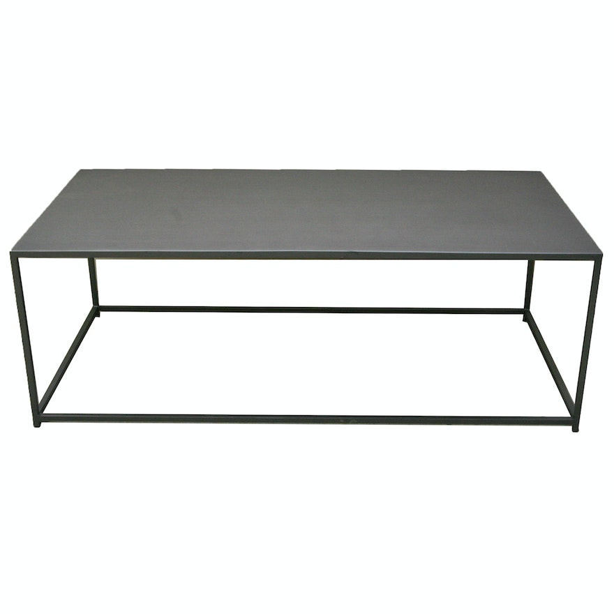 Mill Coffee Table From CB EBTH - Cb2 end table