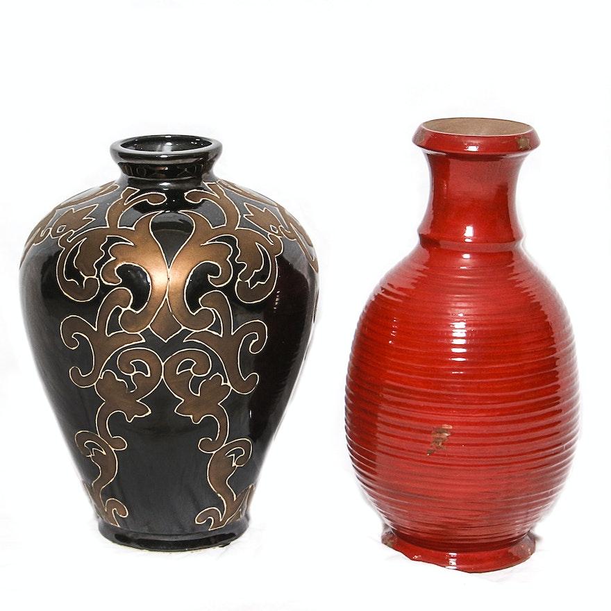 Large Ceramic Vases Ebth