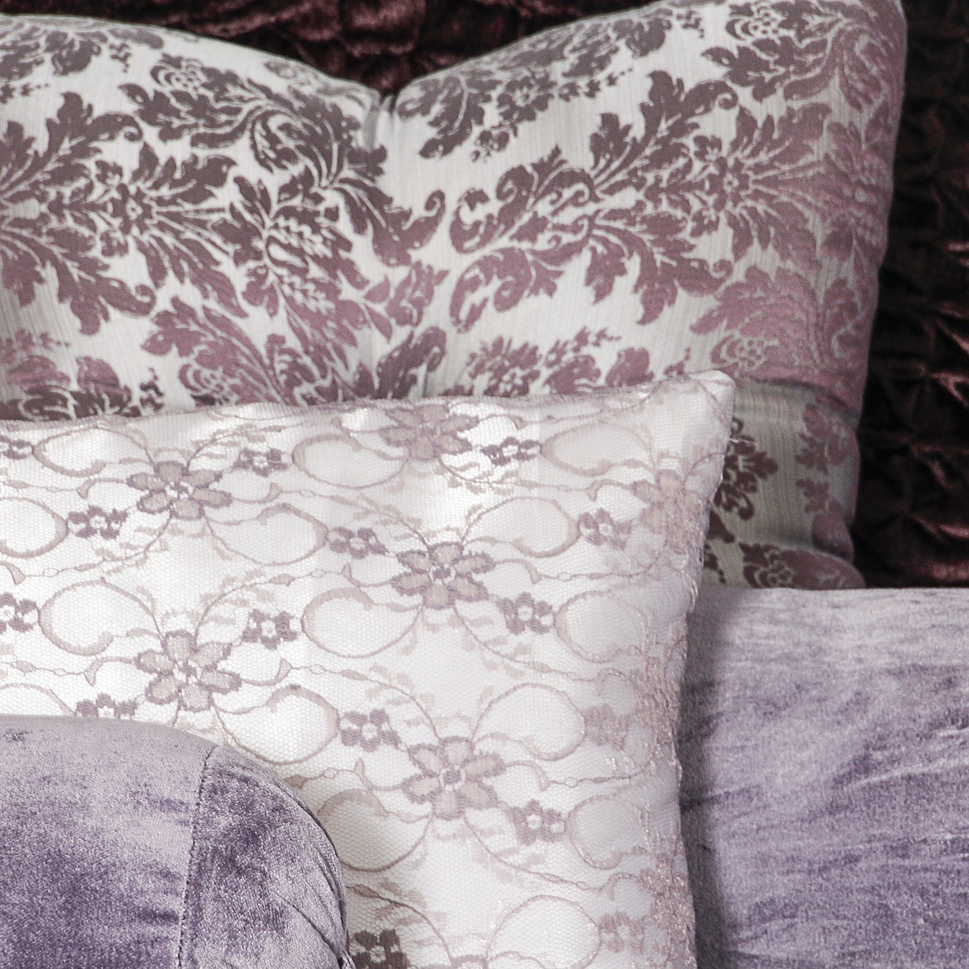 Queen Size Purple Bedding By Brocade Home Ebth