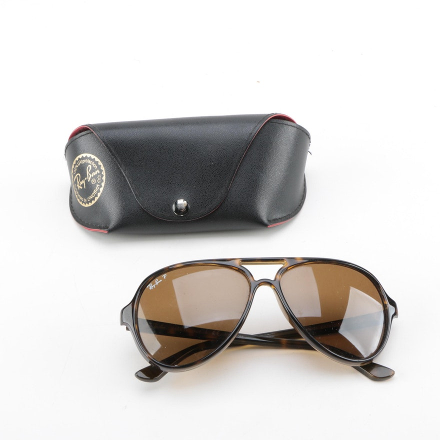 e48f2d2d72 Ray-Ban Cats 5000 Classic Sunglasses with Prescription Lenses   EBTH