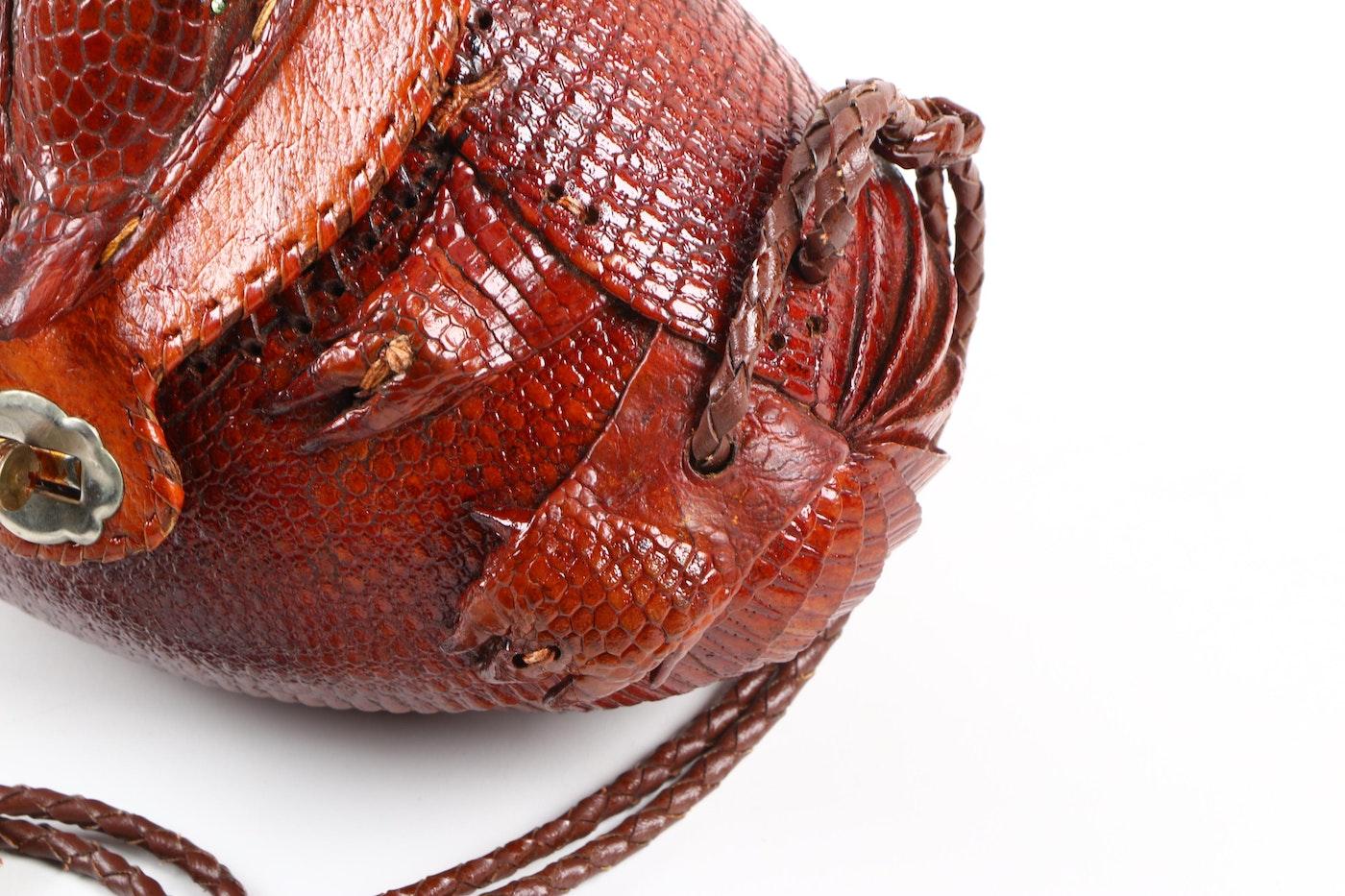 Armadillo Auto Sales >> Armadillo Hide Handbag | EBTH