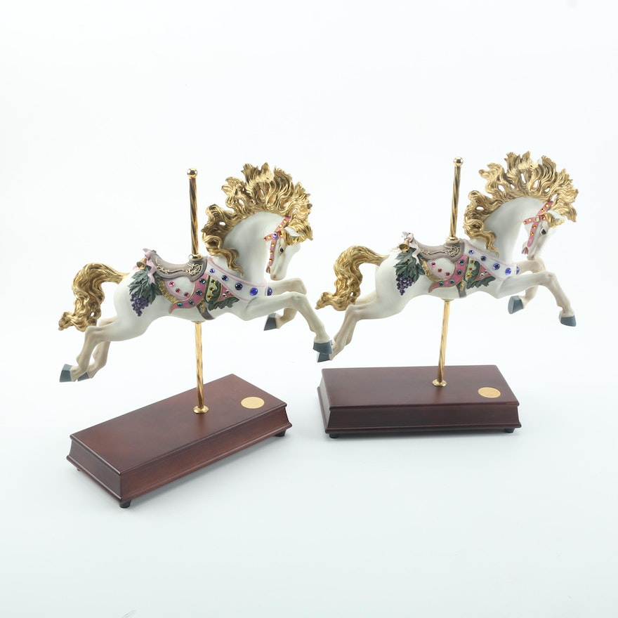 San Francisco Music Box Co Lily Belle Limited Edition Carousel