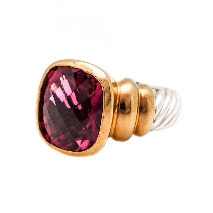 David Yurman Cushion Ring