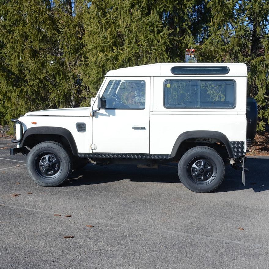 1988 White Land Rover Defender 90 : EBTH
