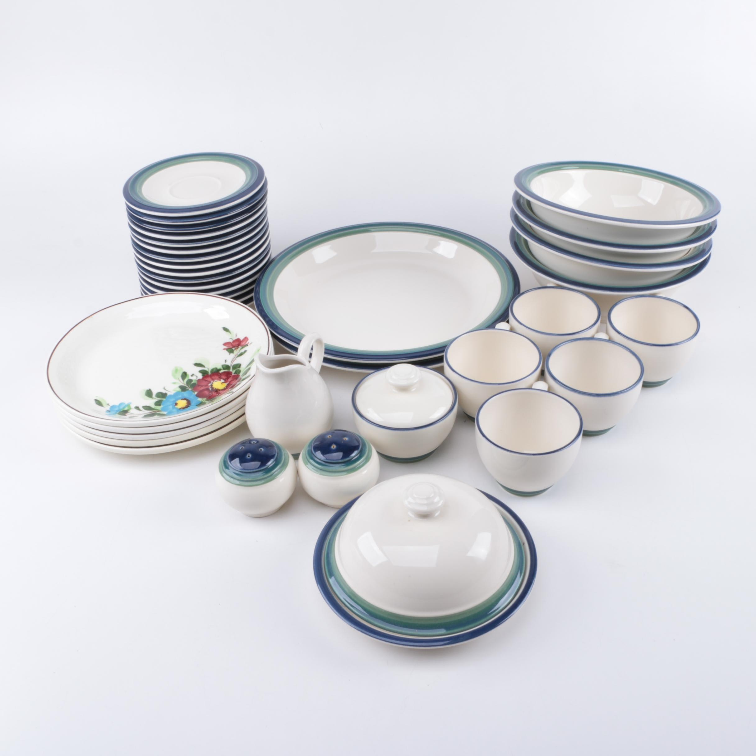 Pfaltzgraff  Ocean Breeze  Tableware ... : pfaltzgraff ocean breeze dinner plate - pezcame.com