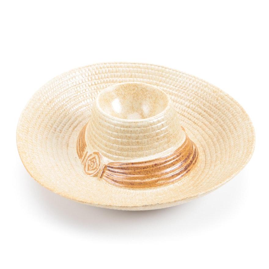 Treasure Craft Sombrero Chip And Dip Tray Ebth
