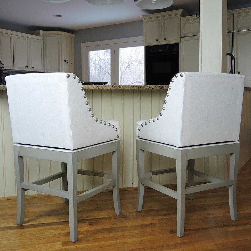 Ballard Designs Swivel Bar Stools