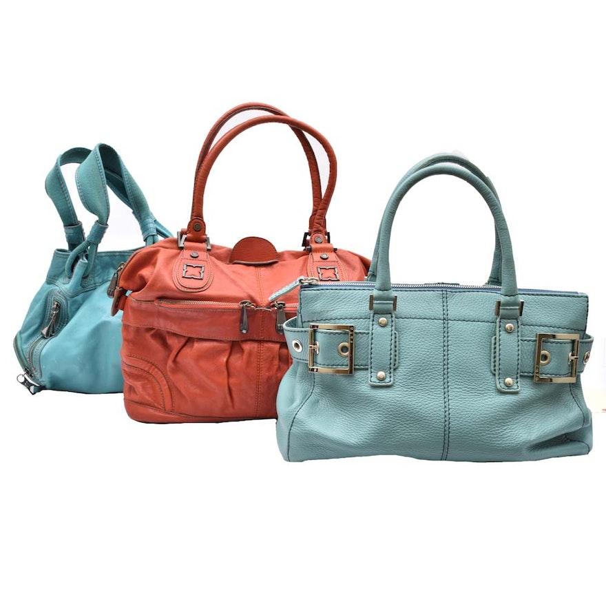 c822d638775e Leather Handbags Featuring BCBG Max Azaria   EBTH