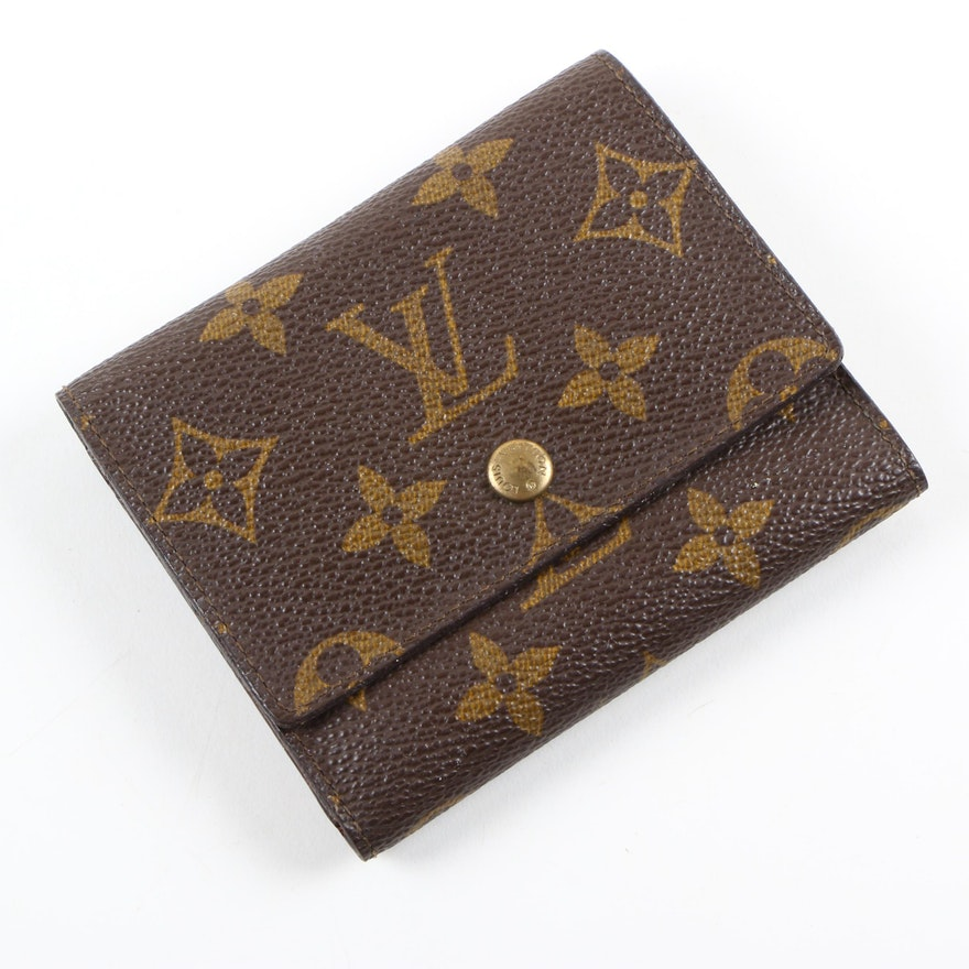 687a79e37f3f Vintage Louis Vuitton Malletier Monogram Wallet   EBTH