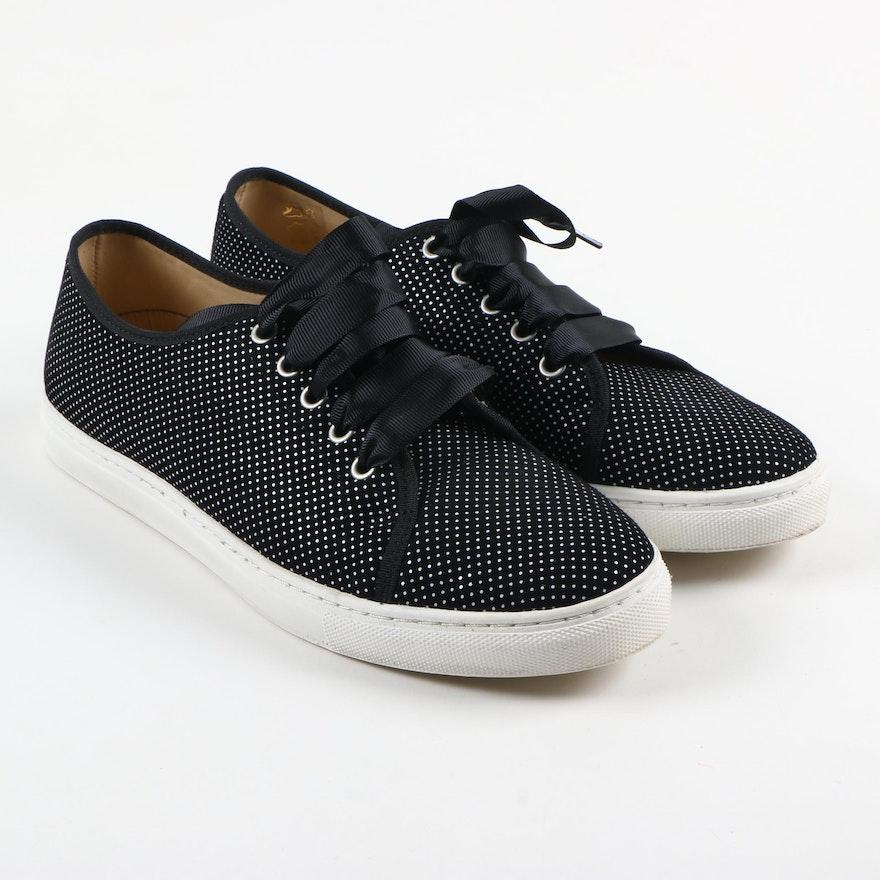 Women s L.K. Bennett Bette Black Sneakers   EBTH 793eea278