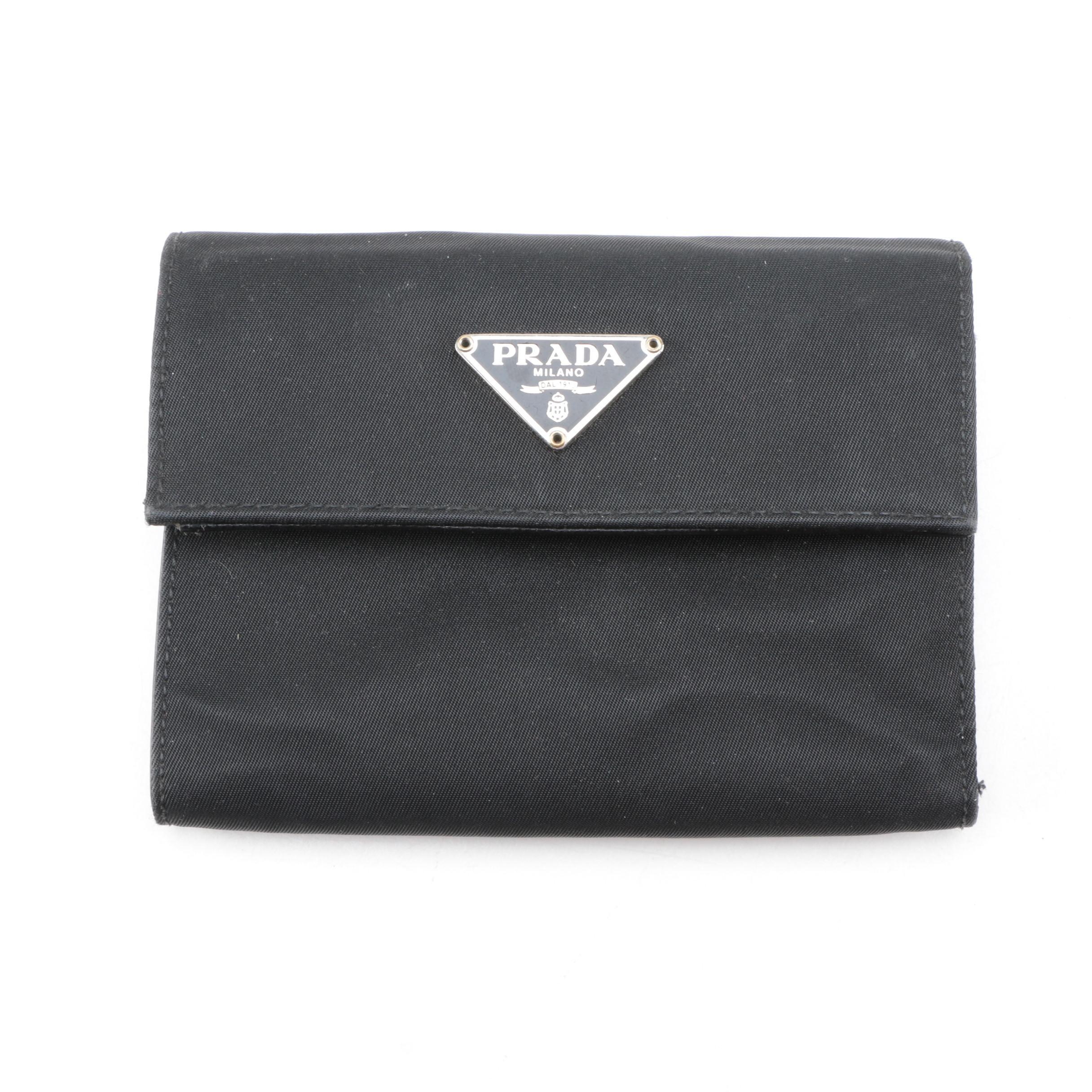 2085f1ea2619 uk prada nylon belt bag de96c 21ee9; low price prada black nylon wallet  9b996 514c9