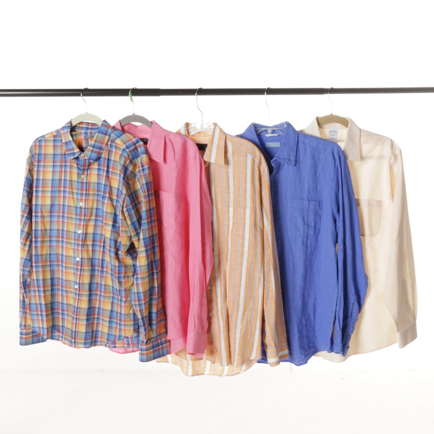 Men's Colorful Button-Down Shirts : EBTH