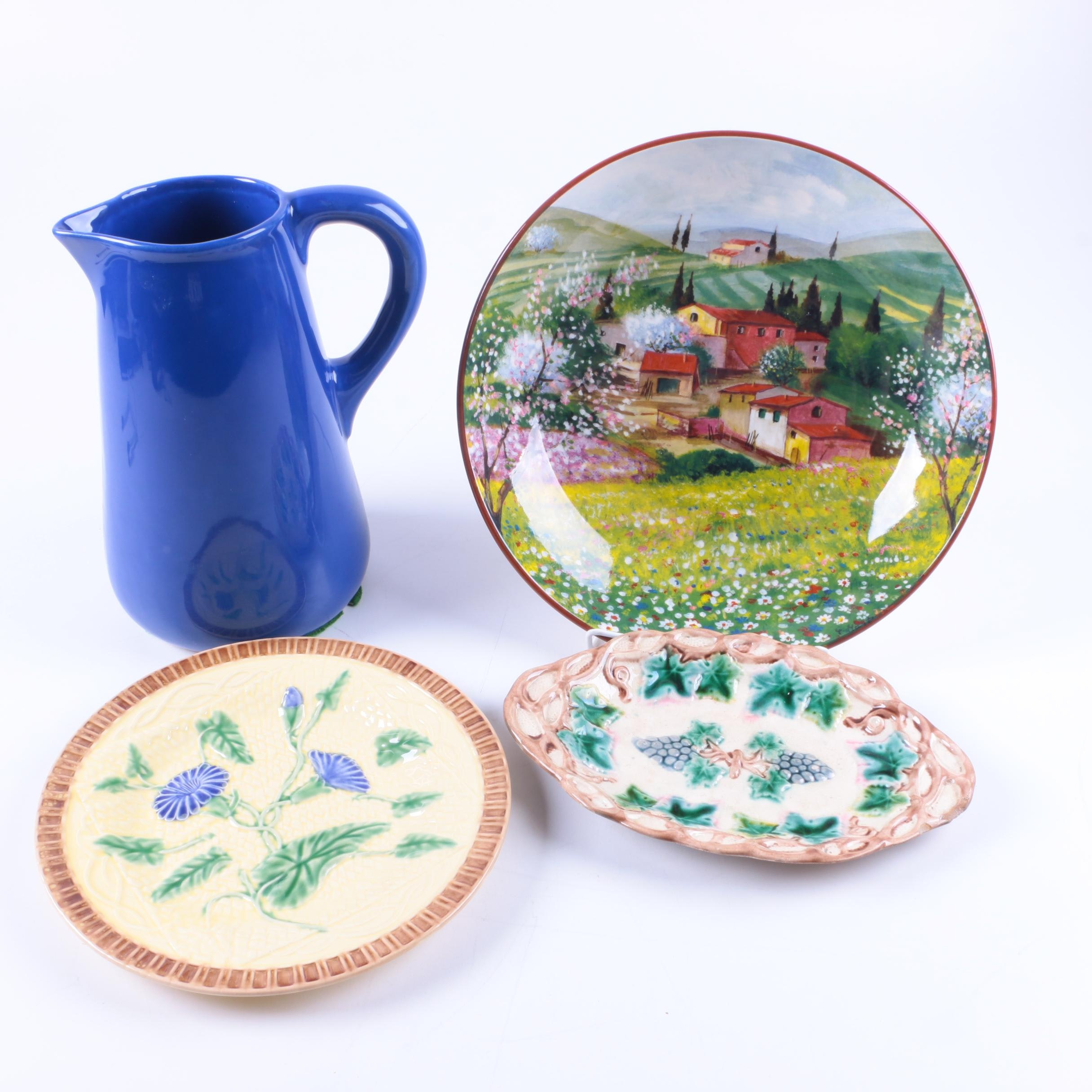 1892 Etruscan Majolica with Portuguese Tableware ...  sc 1 st  EBTH.com & 1892 Etruscan Majolica with Portuguese Tableware : EBTH
