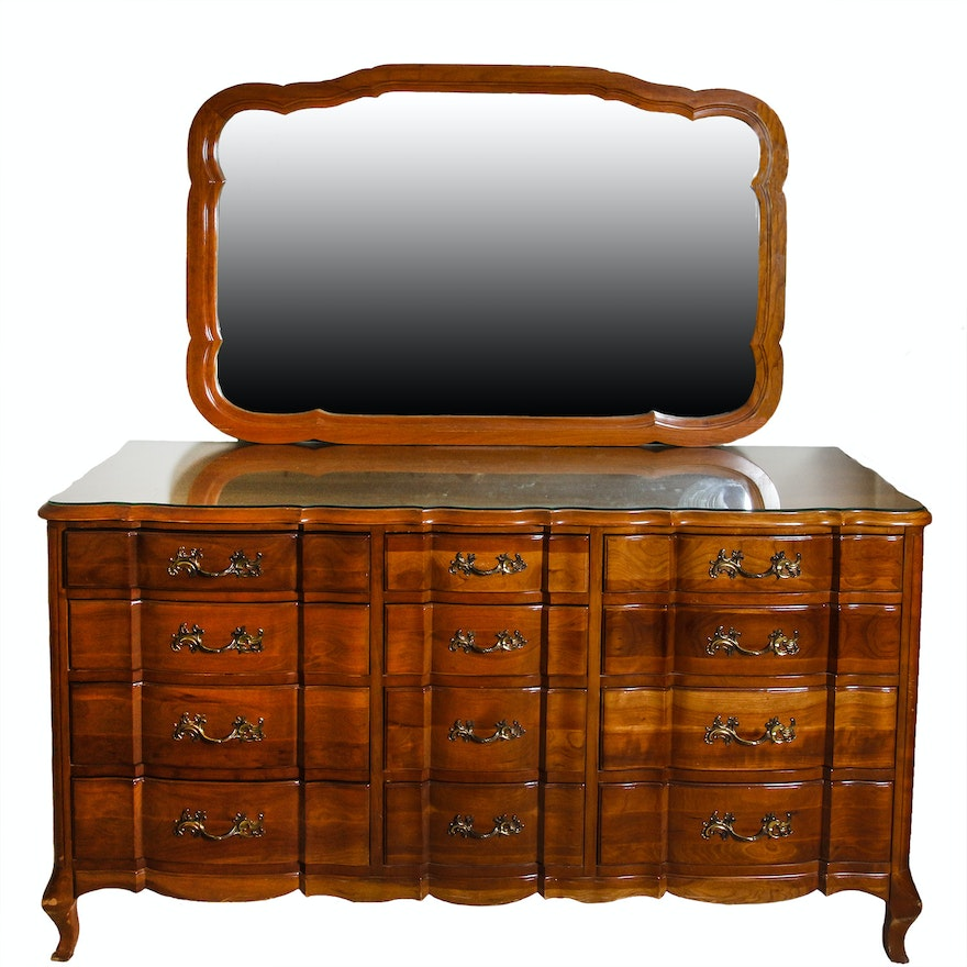Furniture Corp: Louis XV Style Dresser By Permacraft Furniture Of The