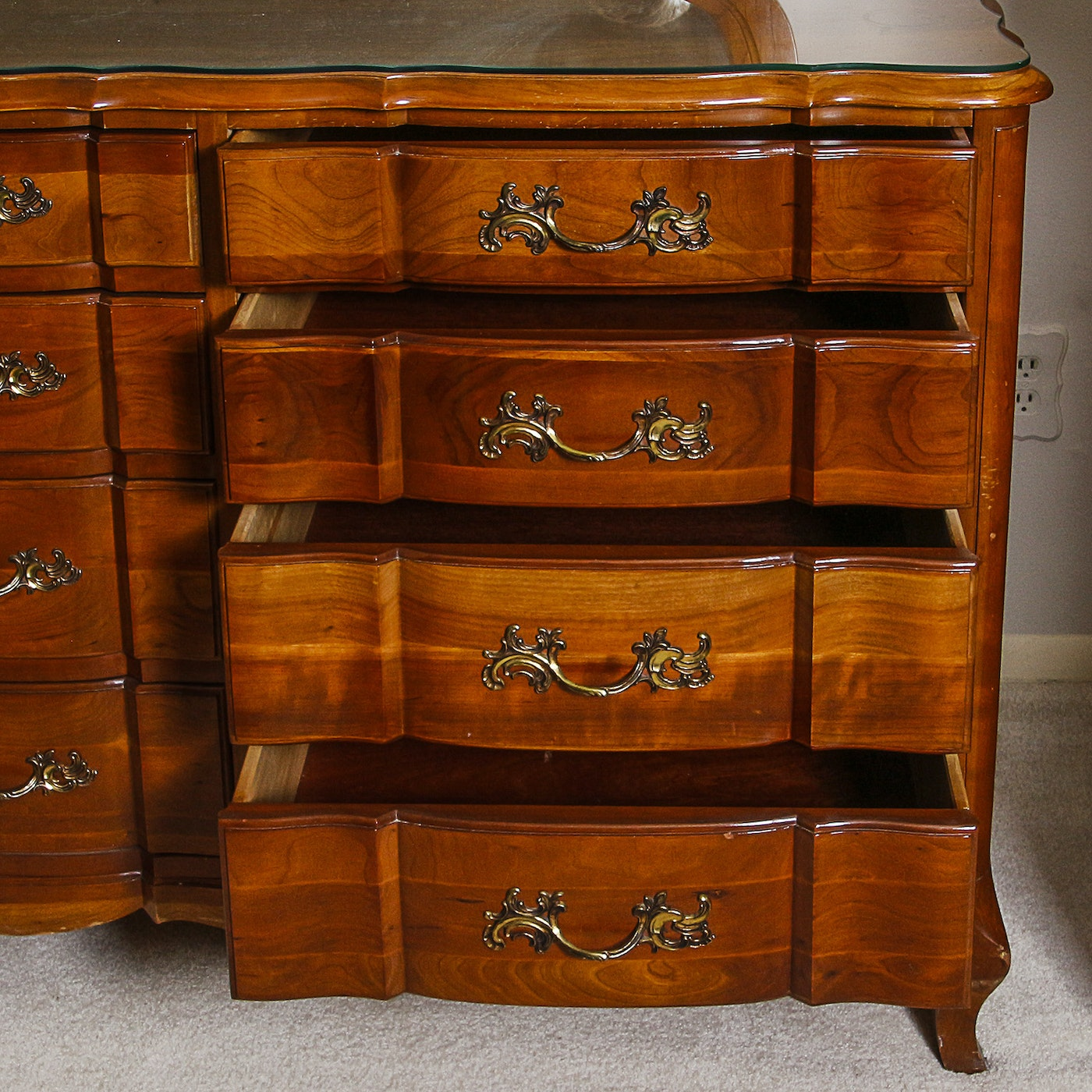 Company Furniture: Louis XV Style Dresser By Permacraft Furniture Of The