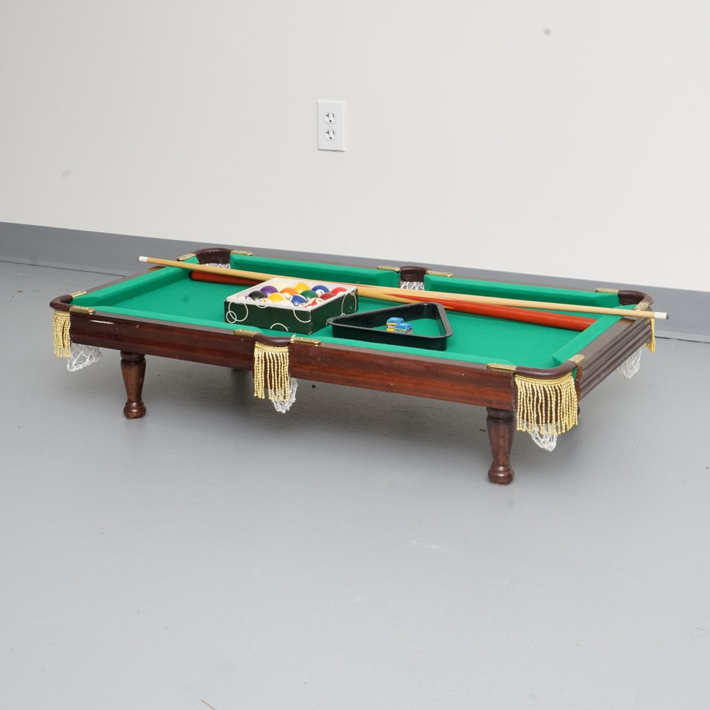 Tabletop Billiards Game ...