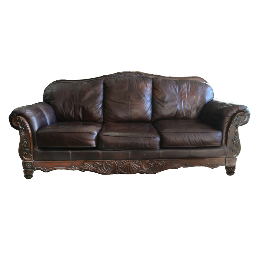 sofa couch peeling furniture durablend cracking gallery bought and review loveseat leather ashley