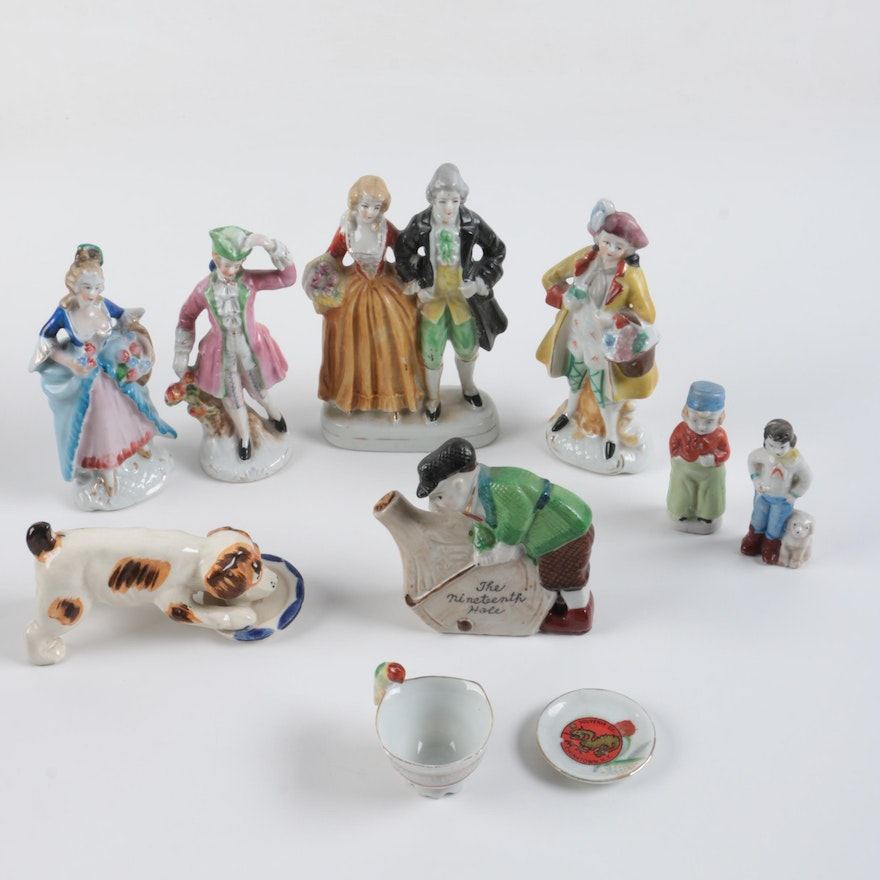 Porcelain Figurines and Décor, Including Occupied Japan